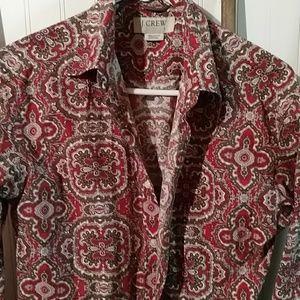 J Crew button front shirt